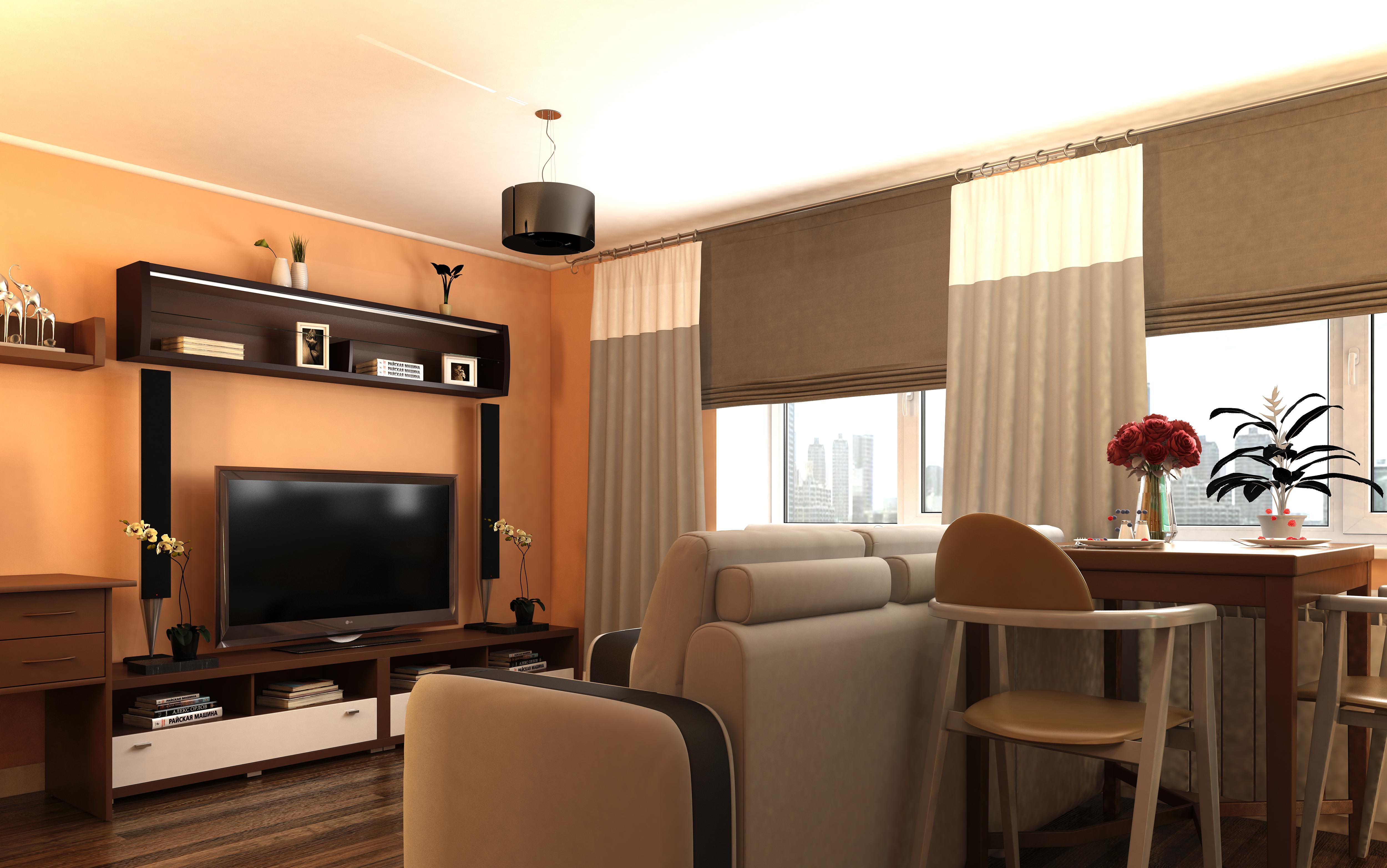Планировка Трёхкомнатная квартира площадью 63.36 кв.м в ЖК «КудроВО!»
