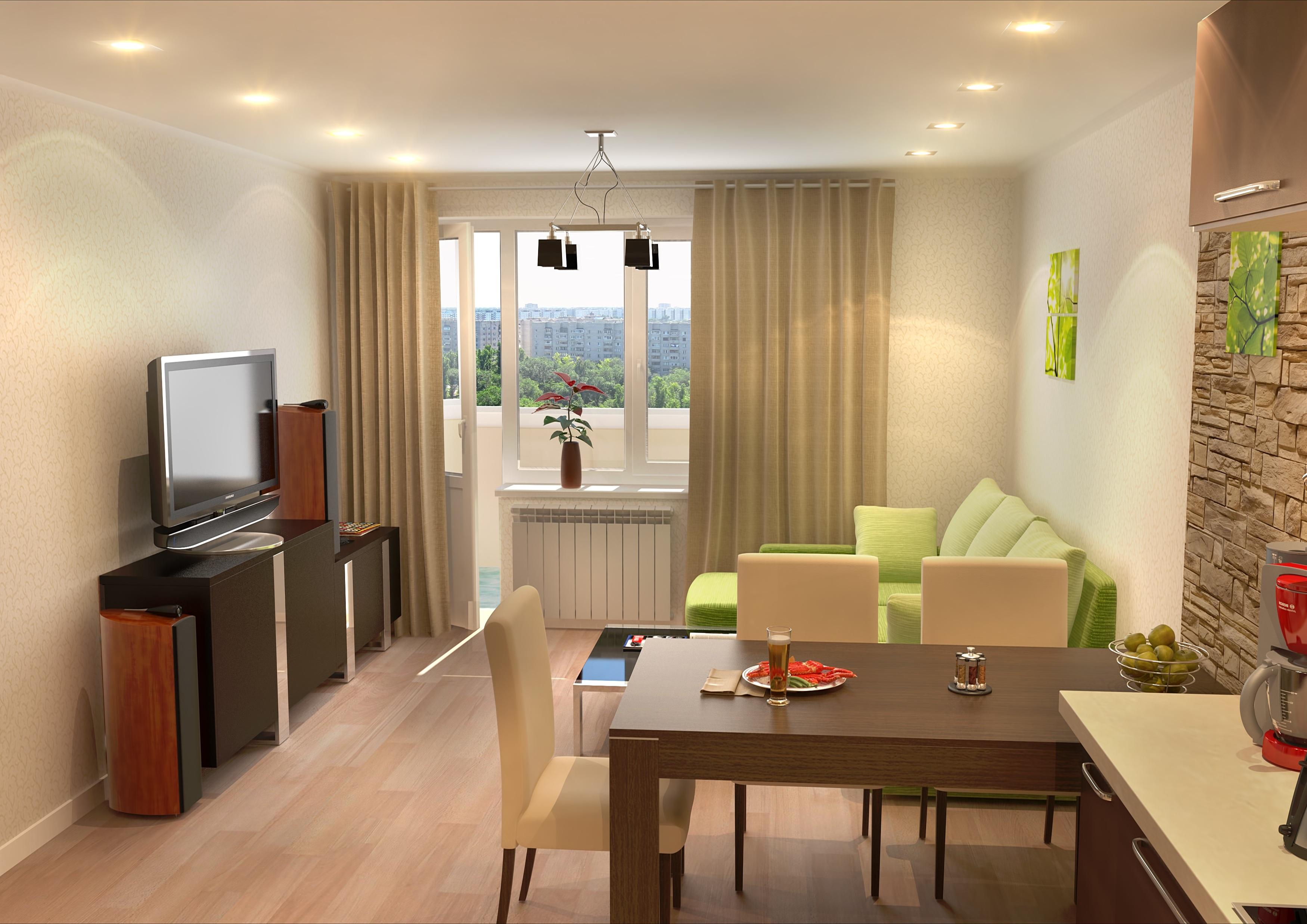 Планировка Двухкомнатная квартира площадью 41.4 кв.м в ЖК «КудроВО!»